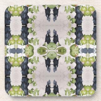 Práctico de costa del corcho: Impresión verde oliv Posavasos
