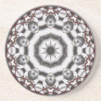 """""""Práctico de costa del cristal de Feng Shui"""" Posavasos Diseño"""