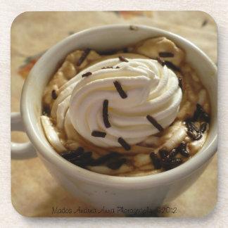 Práctico de costa del descanso para tomar café posavaso