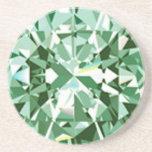 Práctico de costa del diamante posavasos diseño