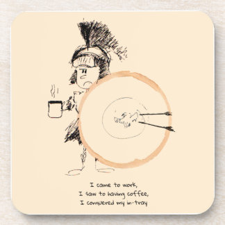 práctico de costa del doodle del anillo de café posavasos de bebida