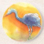 Práctico de costa del Egret de la puesta del sol Posavaso Para Bebida