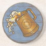 Práctico de costa del escudo de Viking - jarra de  Posavasos Diseño