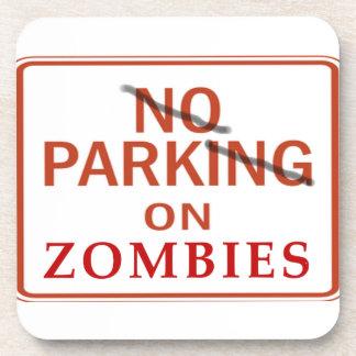Práctico de costa del estacionamiento del zombi posavasos