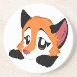 Práctico de costa del Fox de Anthro Posavasos Personalizados