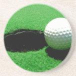 Práctico de costa del golf posavasos manualidades