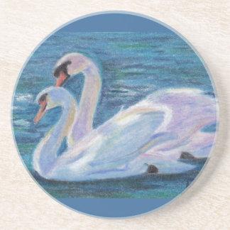 Práctico de costa del lago swan posavasos manualidades