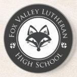 Práctico de costa del Lutheran del valle del Fox Posavasos Personalizados