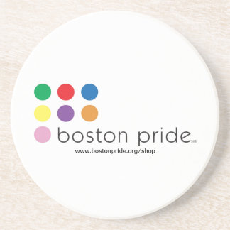 Práctico de costa del orgullo de Boston Posavasos Cerveza