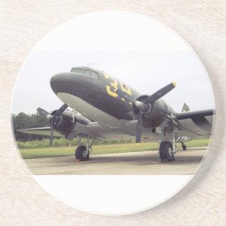 Práctico de costa del pájaro de C-47/DC-3 Gooney Posavasos Para Bebidas