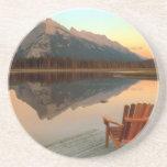Práctico de costa del parque nacional de Banff Posavasos Para Bebidas
