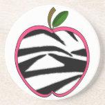 Práctico de costa del profesor de Apple del estamp Posavasos Manualidades