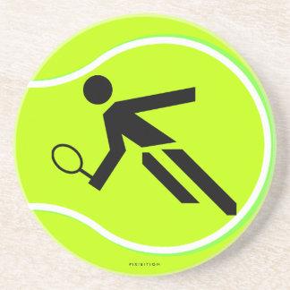 Práctico de costa del tenis posavasos manualidades