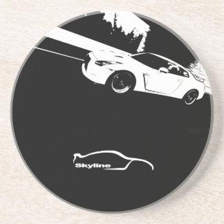 Práctico de costa del tiro del balanceo de Nissan Posavasos Diseño