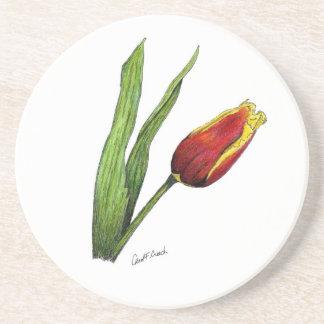Práctico de costa del tulipán posavasos manualidades