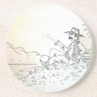 Práctico de costa del vaquero de Smokin Posavasos Diseño