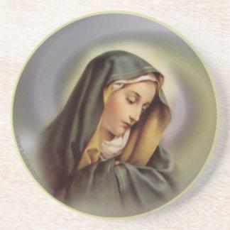 Práctico de costa del Virgen María 2 Posavasos Personalizados