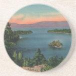 Práctico de costa esmeralda del lago Tahoe de la b Posavasos Manualidades