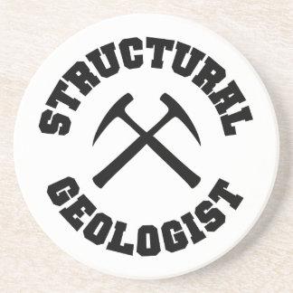 Práctico de costa estructural del geólogo posavasos diseño
