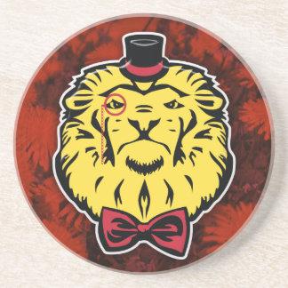 Práctico de costa excelente de los leones posavasos diseño