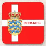 ¡Práctico de costa fantástico de Dinamarca! Posavaso