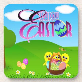 Práctico de costa feliz del corcho de Pascua Posavasos