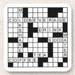 Práctico de costa fijado - crucigrama posavasos de bebida