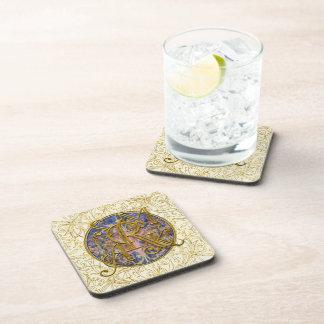 Práctico de costa fijado - Shelley y Armin Posavasos De Bebida