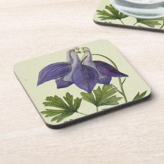 Práctico de costa floral de las flores alpinas posavasos