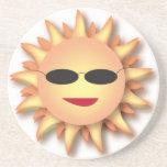 Práctico de costa fresco de Sun Posavasos Manualidades