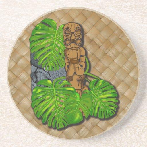 Práctico de costa hawaiano de la bebida de la pied posavasos para bebidas