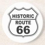 Práctico de costa histórico de la ruta 66 posavasos personalizados