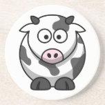 Práctico de costa lindo de la vaca posavasos diseño