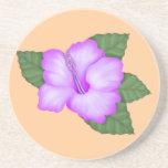 Práctico de costa lindo del regalo de la flor posavasos manualidades