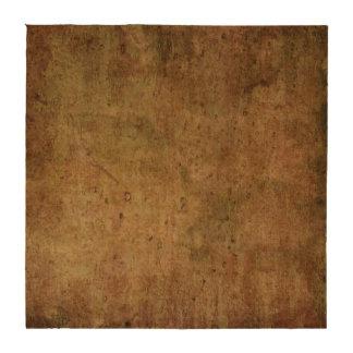 práctico de costa marrón rústico oscuro del corcho posavasos