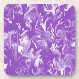 Práctico de costa mezclado del color del diseño de posavasos