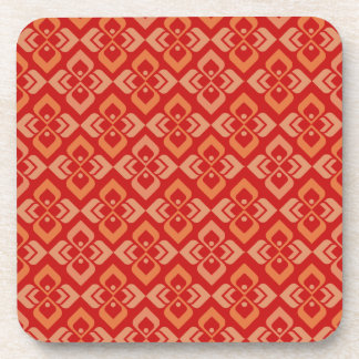 Práctico de costa modelado naranja rojo inspirado posavasos