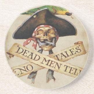 Práctico de costa muerto del pirata posavasos manualidades