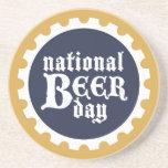 Práctico de costa nacional del día de la cerveza posavasos personalizados