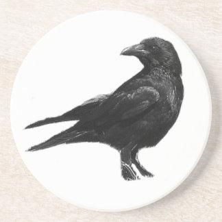Práctico de costa negro del cuervo posavasos cerveza
