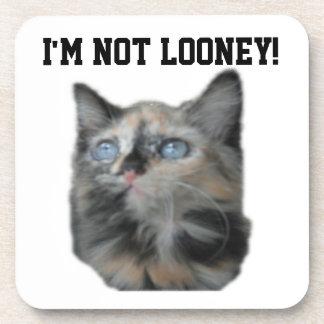¡Práctico de costa no soy Looney! Posavasos