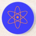 Práctico de costa nuclear de la muestra posavasos manualidades