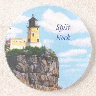 Práctico de costa partido del faro de la roca posavasos diseño