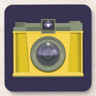 Práctico de costa plástico de la cámara (fondo púr posavaso