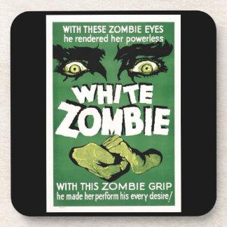 Práctico de costa plástico duro del zombi de la posavaso