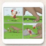 Práctico de costa prehistórico del mechero posavaso