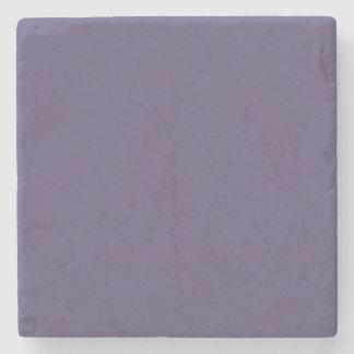 Práctico de costa púrpura posavasos de piedra