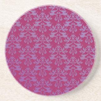 Práctico de costa rojo púrpura/real modelado elefa posavasos personalizados