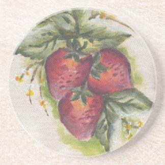 práctico de costa stawberry posavasos diseño