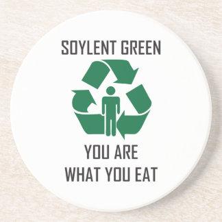 Práctico de costa verde de Soylent Posavasos Para Bebidas